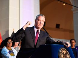 Mayor of New York, Bill De Blasio, Calls for Inquiry into President Trump's Alleged Tax Evasion