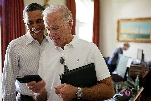 Biden and Obana