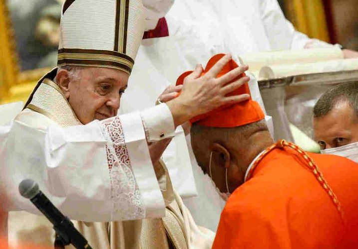 Pope Francis Elevates 13 Bishops to Cardinals; First Black American Cardinal Emerges
