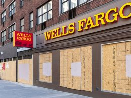 Stores and Banks Boarding Up Storefronts as Precaution against Post-Election Violence