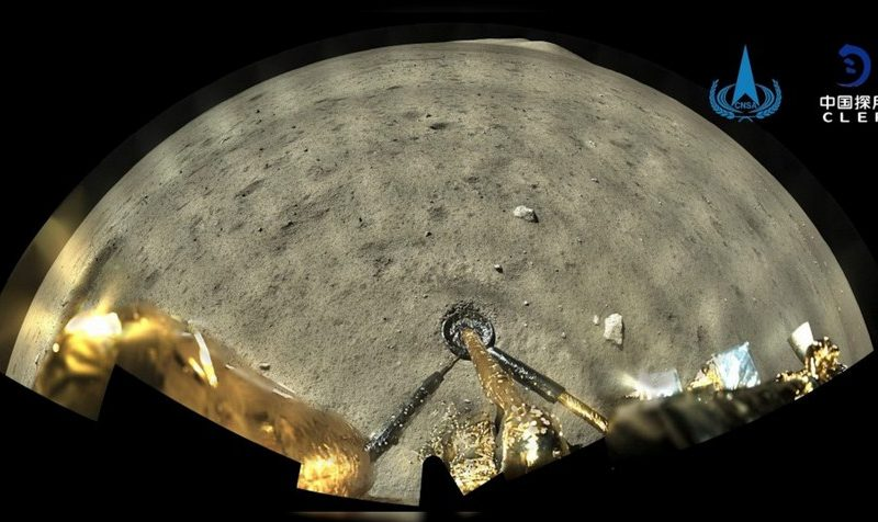 China's Chang'e-5 Lunar Probe Successfully Collects Lunar Samples, Prepare to Return to Earth