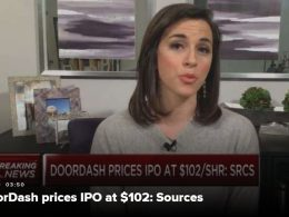Food Delivery Company, DoorDash, to Sell Shares for $102 per Share in IPO