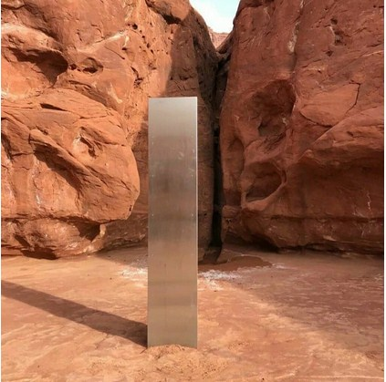 Mysterious Metal Monolith Found In Utah Desert Has Vanished Without Explanations