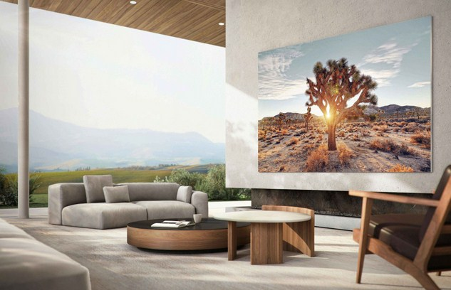 Samsung Launches 110-Inch MicroLED TV in Korea; Global Sales Planned for 2021