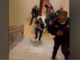 Doug Jensen, Man Seen Chasing Capitol Officer, Arrested and Charged