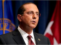 HHS Secretary Alex Azar Resigns; Plans to Stay Until a Successor Takes Over