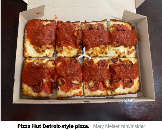 Pizza Hut Introduces Its New Detroit-Styled Pizza; Prices Start from $10.99