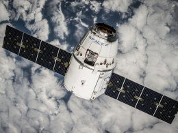 SpaceX's Dragon Cargo Space vehicle Splashes down off the Coast of Florida