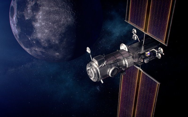 SpaceX Wins $331 Million NASA Contract to Launch Gateway Lunar Outpost